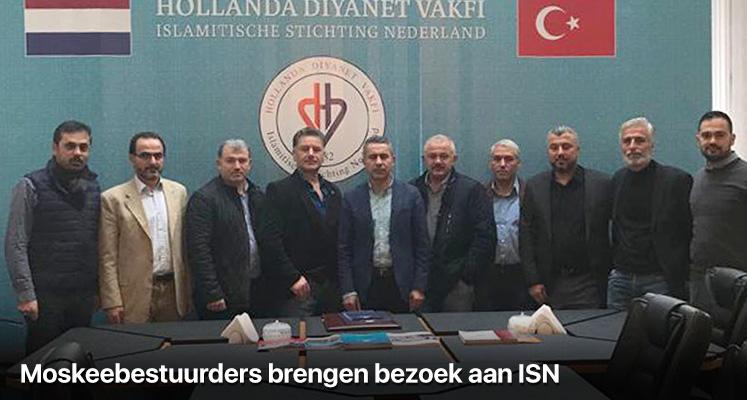 Moskeebestuurders brengen bezoek aan ISN